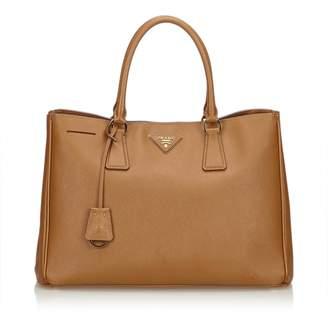Prada Galleria Leather Satchel