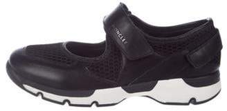 Moncler Claudine Mesh Cutout Sneakers w/ Tags Black Claudine Mesh Cutout Sneakers w/ Tags