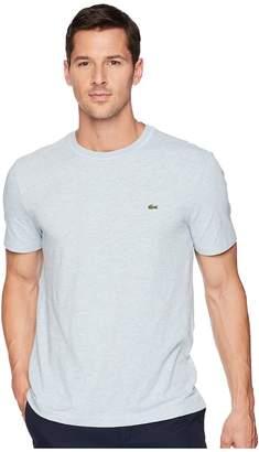 Lacoste Short Sleeve Textured Slub Regular Men's Short Sleeve Pullover