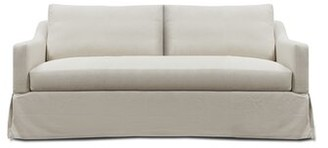 Uniquely Furnished Laine Dressmaker Sofa 84'' Uniquely Furnished