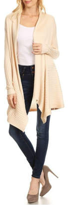Blvd Ribbed Knit Cardigan