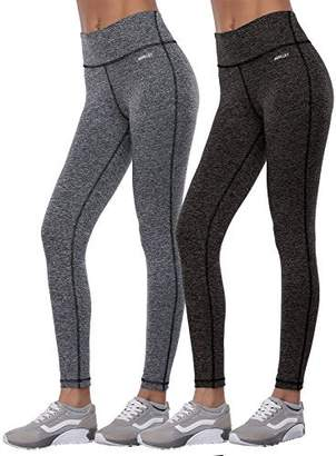 Spanx Aenlley Women's Activewear Yoga Pants High Rise Workout Gym Tights Leggings Color BlackGrey+Darkgrey Size S