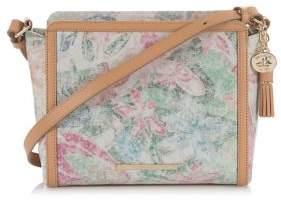 Brahmin Carrie Multicolored Leather Crossbody Bag