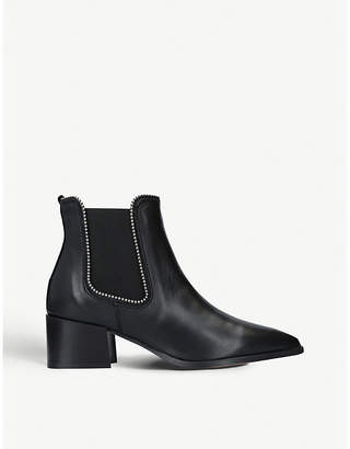 Carvela Spire studded leather chelsea boots
