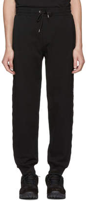McQ Black Logo Dart Lounge Pants