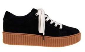 Splendid Ruth Suede Platform Sneakers