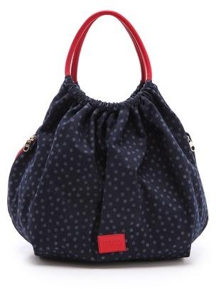 RED Valentino Denim Top Handle Bag