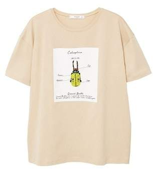 MANGO Appliqu??s printed t-shirt