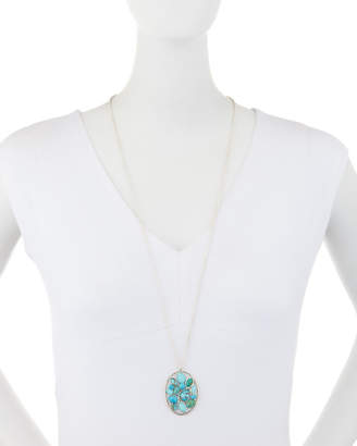 Ippolita Rock Candy Large Turquoise Cluster Pendant Necklace