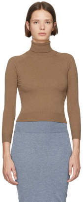 Stella McCartney Brown Short Turtleneck