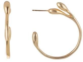 Trina Turk Botanicals 40mm Hoop Earrings