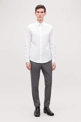 Cos SLIM-FIT STRETCH-COTTON SHIRT