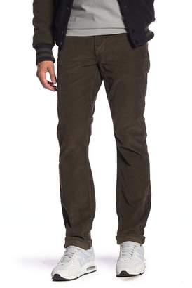 Hudson Jeans Blake Slim Straight Corduroy Pants