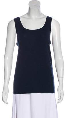 Akris Punto Wool Sleeveless Top
