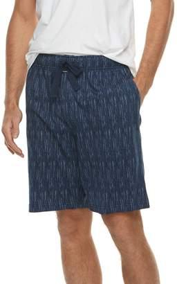 Van Heusen Men's Printed Jersey Sleep Shorts