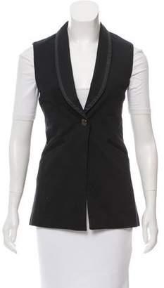 Rag & Bone Longline Shawl Collar Vest
