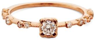 Kataoka Diamond Solitaire Ring