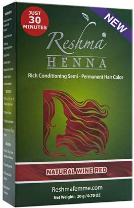 Reshma Beauty Natural Wine Red Semi Permanent Color