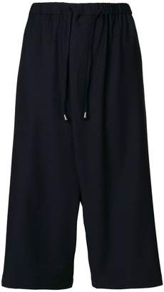 Unconditional cross front culottes