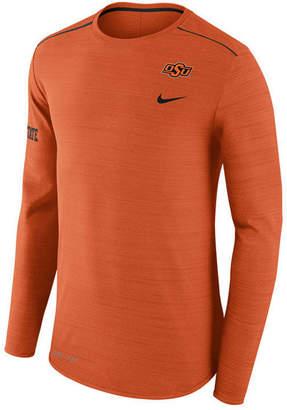 Nike Men's Oklahoma State Cowboys Dri-Fit Breathe Long Sleeve T-Shirt