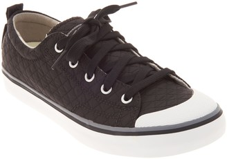 Keen Quilted Lace-Up Sneakers - Elsa II Sneaker Quilted
