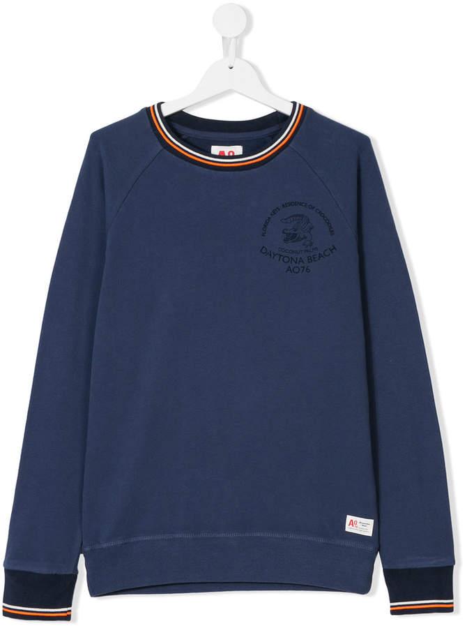 American Outfitters Kids Sweatshirt mit Kontraststreifen