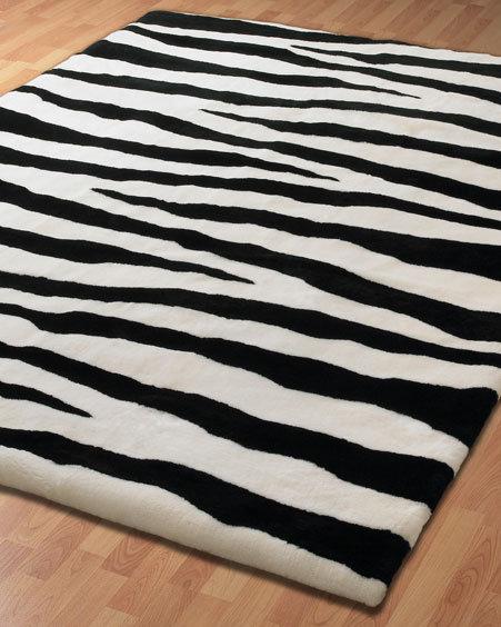 Music themed baby rooms popsugar moms for Zebra rug ikea