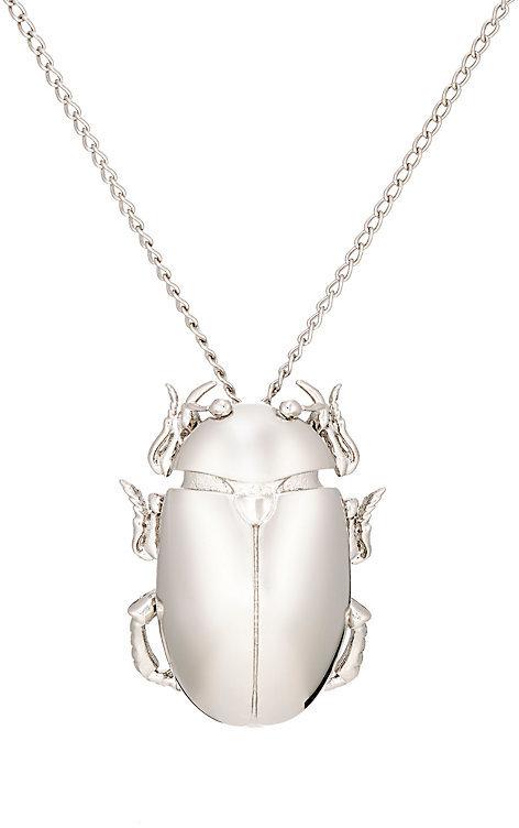 Balenciaga Balenciaga Women's Beetle Pendant Necklace