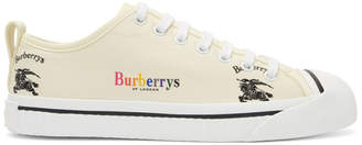 Burberry Off-White Kingly Sneakers