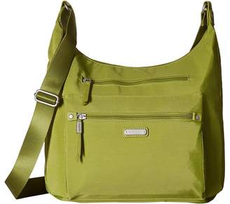 Baggallini New Classic Day Trip Hobo with RFID Phone Wristlet Hobo Handbags