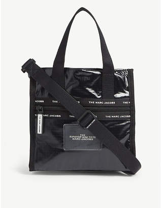 Marc Jacobs Ripstop mini glossy tote