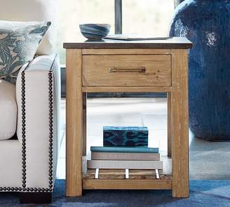 Pottery Barn Parker Reclaimed Wood End Table