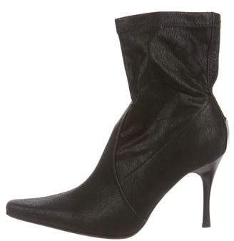 Donald J Pliner Suede Pointed-Toe Ankle Booties