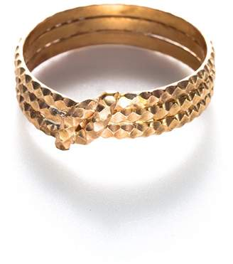 Isabella Oliver By Boe Knotted Scalloped Ring