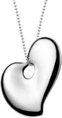 Gorham Sterling Heart Pendant Necklace