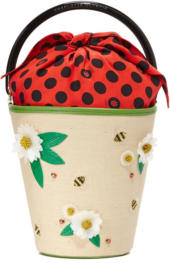 Charlotte OlympiaCharlotte Olympia Picnic Bucket Bag
