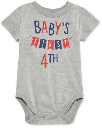 City Streets Baby's First 4th of July Short Sleeve Bodysuit - Baby NB-24M