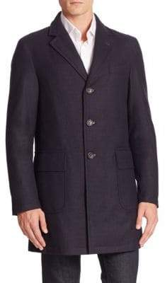Sanyo Wool Cashmere Blend Water-Repellant Jacket