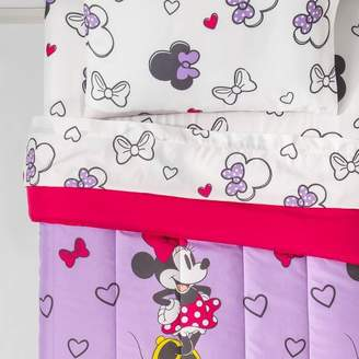 ba0bff10ee2 Mickey Mouse & Friends Minnie Mouse Bedding Set Purple