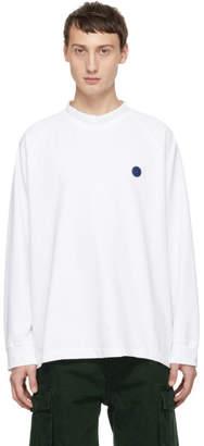 Acne Studios Bla Konst White Carp Uni T-Shirt