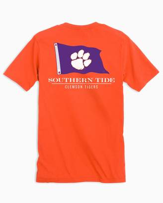 Southern Tide Gameday Nautical Flags T-shirt - Clemson University
