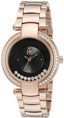Jivago Women's JV1615 Celebrate Analog Display Swiss Quartz Rose Gold Watch