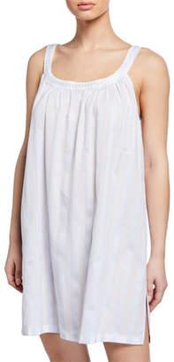 Celestine Daliah Sleeveless Celestine Satin Striped Babydoll Nightgown