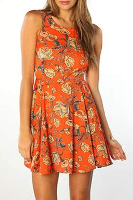 MinkPink Inked Skater Dress