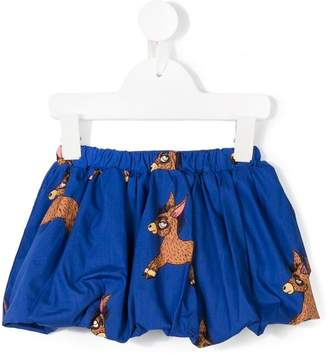 Mini Rodini donkey print skirt