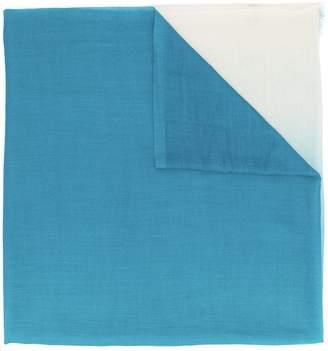 Salvatore Ferragamo degradé cashmere scarf