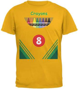 Old Glory Halloween Crayon Box Costume Mens T Shirt 2XL