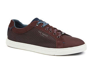 Ted Baker Sarpio Textile and Suede Sneakers