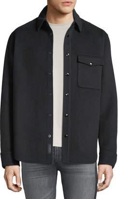 Rag & Bone Men's Principle Wool Shirt Jacket