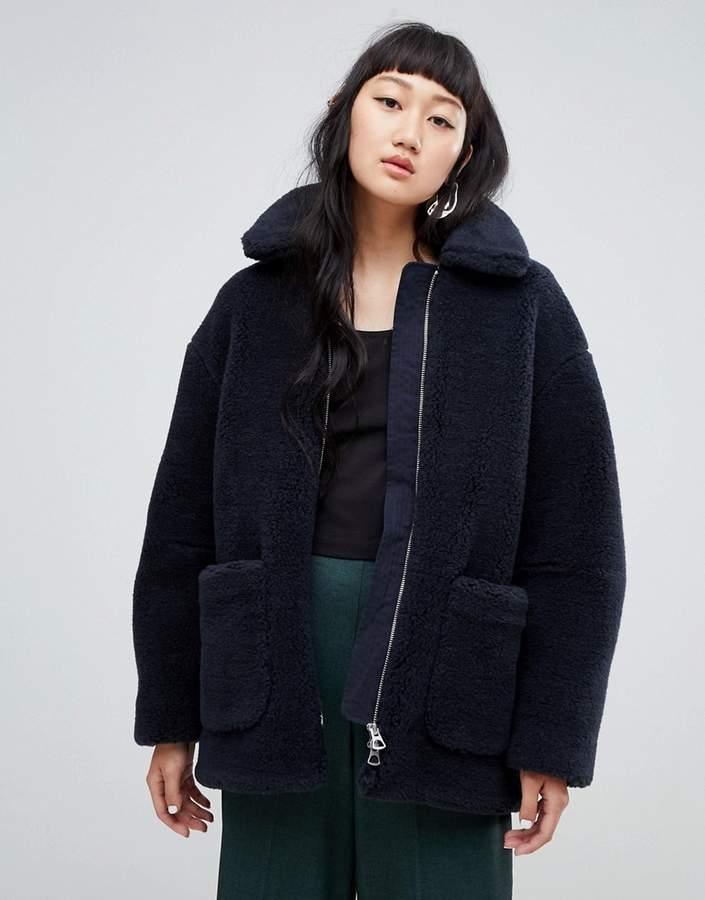 Borg Teddy Coat